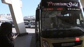 VIDEO: Terminal di Seoul Sepi Imbas Penyebaran Virus Corona