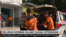 VIDEO: Seluruh Korban Hilang Sudah Ditemukan