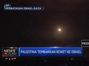 Balas Israel, Palestina Tembakkan Roket ke Gaza