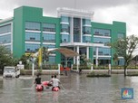 Terendam Banjir, KBN Cakung Tetap Beroperasi