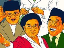 Soeharto Lebih Populer Dari Pada Jokowi, Sukarno Hingga SBY