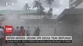 VIDEO: Sistem Aerosol Gedung DPR Diduga Tidak Berfungsi