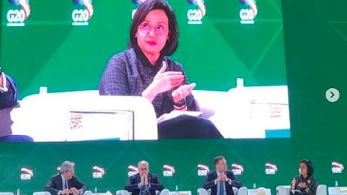 Di G20, Sri Mulyani Tegaskan soal Transparansi Pajak Global
