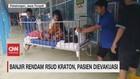 VIDEO: Banjir Rendam RSUD Kraton, Pasien Dievakuasi