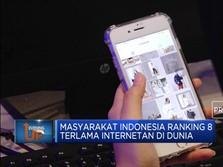 Indonesia Demam Internet Sampai Masuk Peringkat 8 Dunia