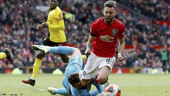 MU vs Club Brugge, Kesempatan Fernandes Bersinar Lagi