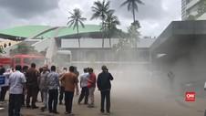 VIDEO: Asap Pekat Selimuti Gedung Nusantara III DPR RI