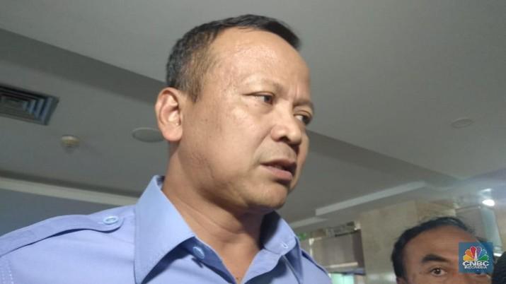 Menteri KKP Edhy Prabowo (CNBC Indonesia/Cantika Dinda)