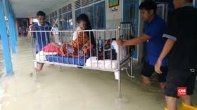 VIDEO: RSUD Keraton Pekalongan Terendam Banjir