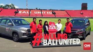 Wuling Gandeng Klub Bali United Hingga Dua Musim
