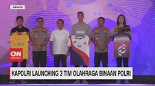 VIDEO: Kapolri Launching 3 Tim Olahraga Binaan Polri