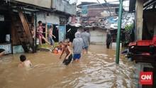 Universitas Borobudur Jadi Tempat Mengungsi Korban Banjir