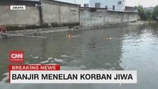 VIDEO: Banjir Jakarta Menelan Korban Jiwa