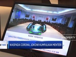 Gegara Corona, Jokowi keluarkan 4 Stimulus Selamatkan Ekonomi