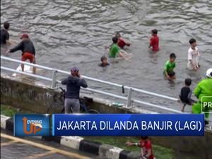 Lagi-Lagi Banjir Lumpuhkan Ibu Kota, Salah Siapa?