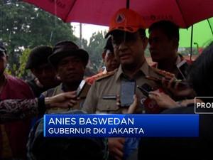 Jakarta Kebanjiran, Anies Baswedan: Kita Fokus Penanganan