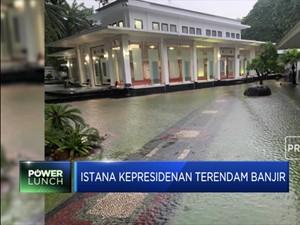 Alamakk...Istana Kepresidenan Juga Kebanjiran