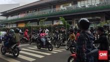 Demo di Mal AEON JGC Ricuh, Polisi Tangkap 8 Orang