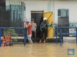 Duh, Banjir Jakarta Bikin Jaringan Seluler Down