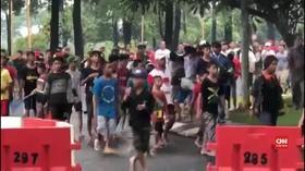 VIDEO: Dituding Bikin Banjir, AEON Mal Cakung Diserang Warga