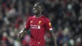 Sadio Mane kemudian mencetak gol kemenangan Liverpool di menit ke-81. (AP Photo/Jon Super)