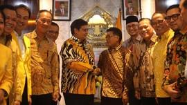 Presiden PKS Sambangi Kantor DPP Golkar
