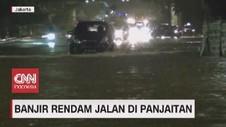 VIDEO: Sejumlah Titik Jalan Jakarta Kembali Terendam Banjir