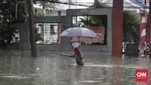 Banjir Jakarta Hari Ini, Ganjil Genap Ditiadakan