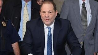 Sudah Divonis, Harvey Weinstein Disebut Ngotot Tak Bersalah