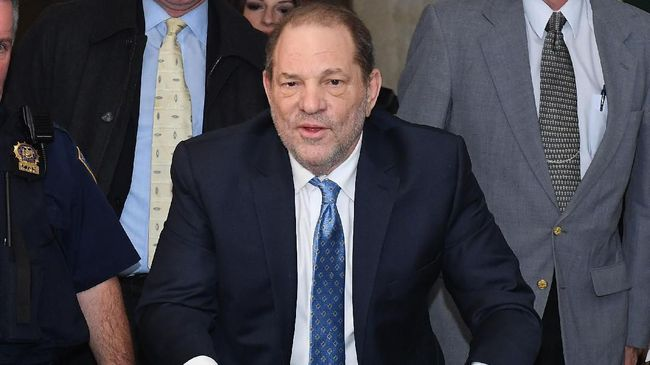 Harvey Weinstein Diputus Bersalah, Aktris Hollywood Berpesta