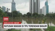 VIDEO: TPU Karet Bivak Terendam Banjir