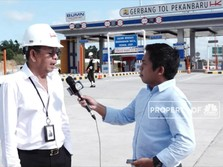 Mantap, Ruas Tol Pekanbaru-Dumai Siap Beroperasi April 2020