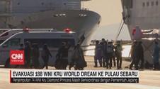 VIDEO: Pulau Sebaru Jadi Lokasi Evakuasi WNI Kru World Dream