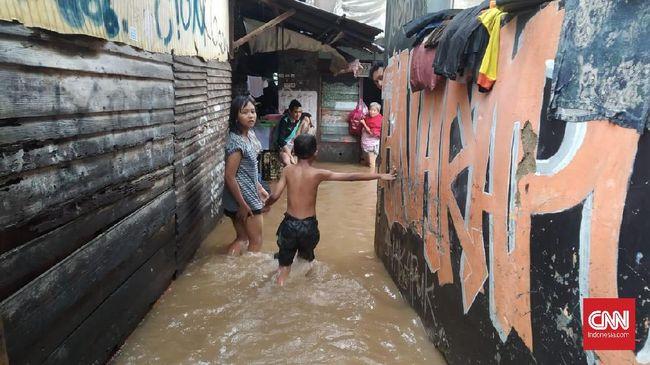 Banjir Kepung Jakarta, Jumlah Pengungsi 3.565 Jiwa