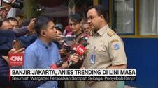VIDEO: Banjir Jakarta, Anies Trending di Lini Masa