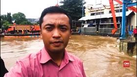 VIDEO: Vlog Kondisi Pintu Air Manggarai Selasa Pagi