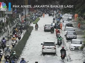 Hujan Ekstrem Melanda, Jakarta Kebanjiran Lagi