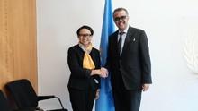 Temui Dirjen WHO, Menlu Lapor Indonesia Nihil Kasus Corona