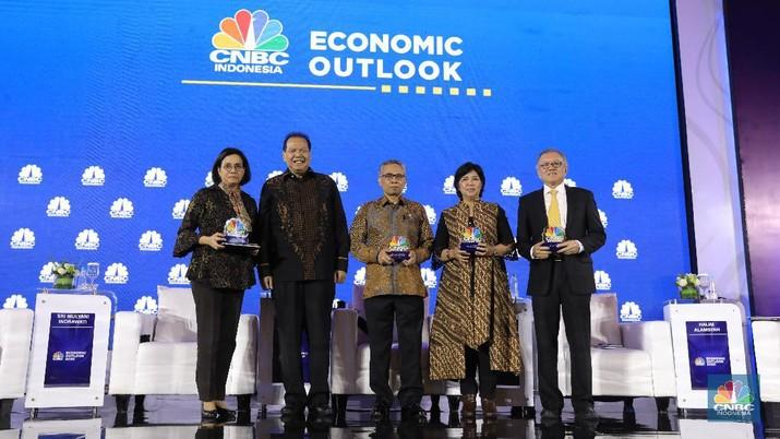CNBC Indonesia Economic Outlook 2020 telah digelar pada Rabu (26/2/2020).