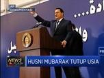 Mantan Presiden Mesir Husni Mubarak Tutup Usia