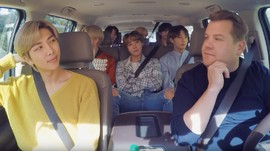 Bak Sitkom, Keseruan BTS Carpool Karaoke Bersama James Corden