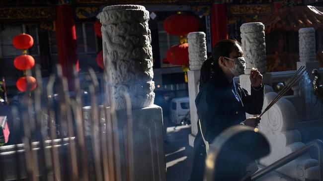 Sampai saat ini tercatat ada 840 orang yang positif virus corona di Jepang. (Photo by Philip FONG / AFP)