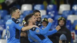 Hasil Liga Champions: Napoli Tahan Imbang Barcelona