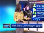 Jurus Jokowi Lawan 'Pukulan' Corona