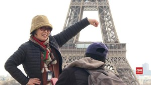 VIDEO: Sepi Wisatawan China di Paris Akibat Corona