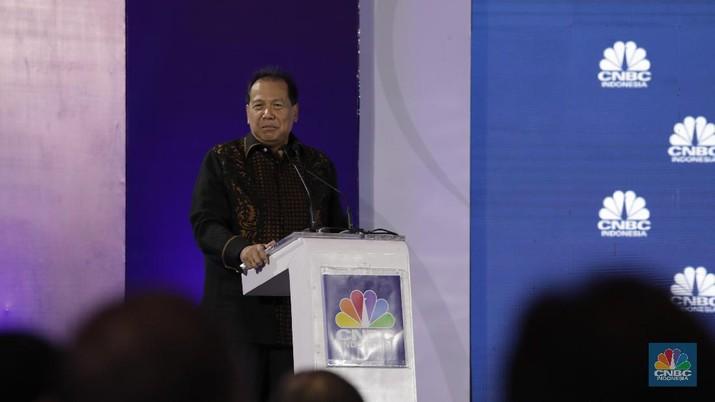 Proyeksi tersebut disampaikan dalam acara CNBC Indonesia Economic Outlook 2020.