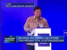 Menko Airlangga:Omnibus Law Ciptaker Tak Mengubah Total UU 13