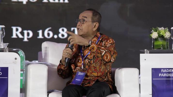 Direktur Utama PT Hutama Karya Bintang Perbowo mengaku tidak masalah dengan keputusan Menteri BUMN Erick Thohir yang membatalkan rencana holding BUMN.