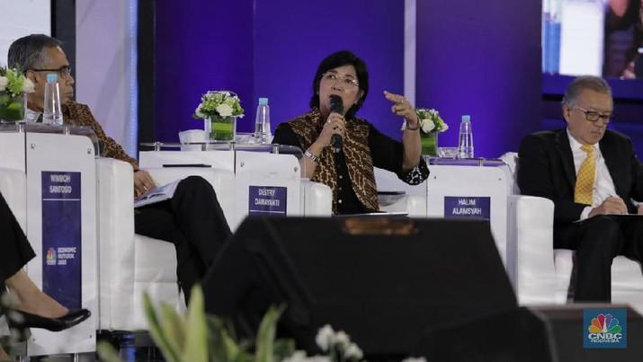 Aliran modal tersebut menyambangi Indonesia, di tengah kekhawatiran sejumlah pelaku pasar terhadap dampak corona virus (Covid-19)