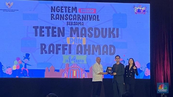 Raffi Ahmad ekspansi bisnis, bikin taman hiburan keliling kerja sama dengan Kemenkop UKM